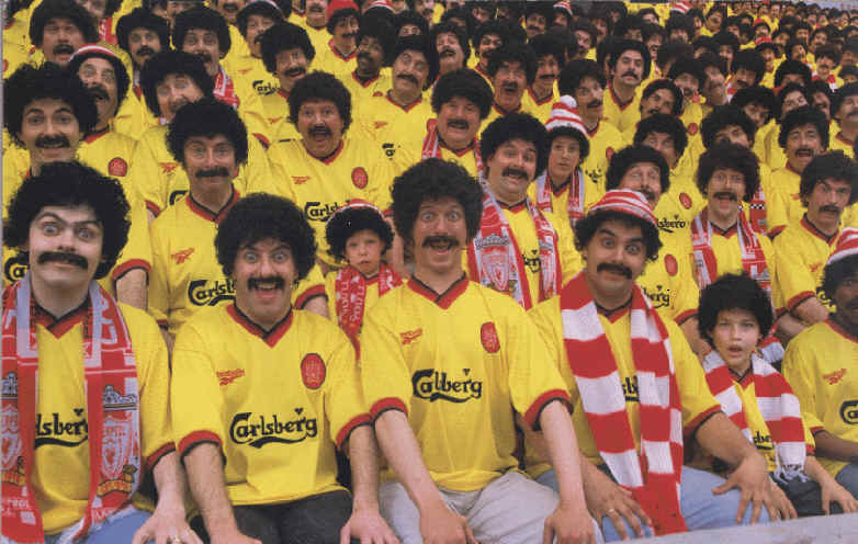 A typical game at Anfield
